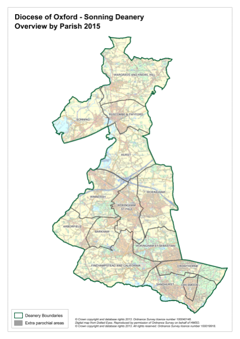 Sonning-Deanery-by-Parish-Overview